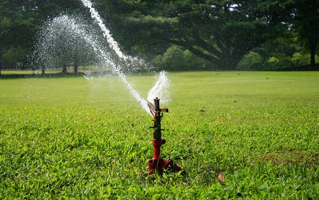 Irrigation drainage